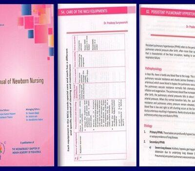 Manual of Newborn Nursing
